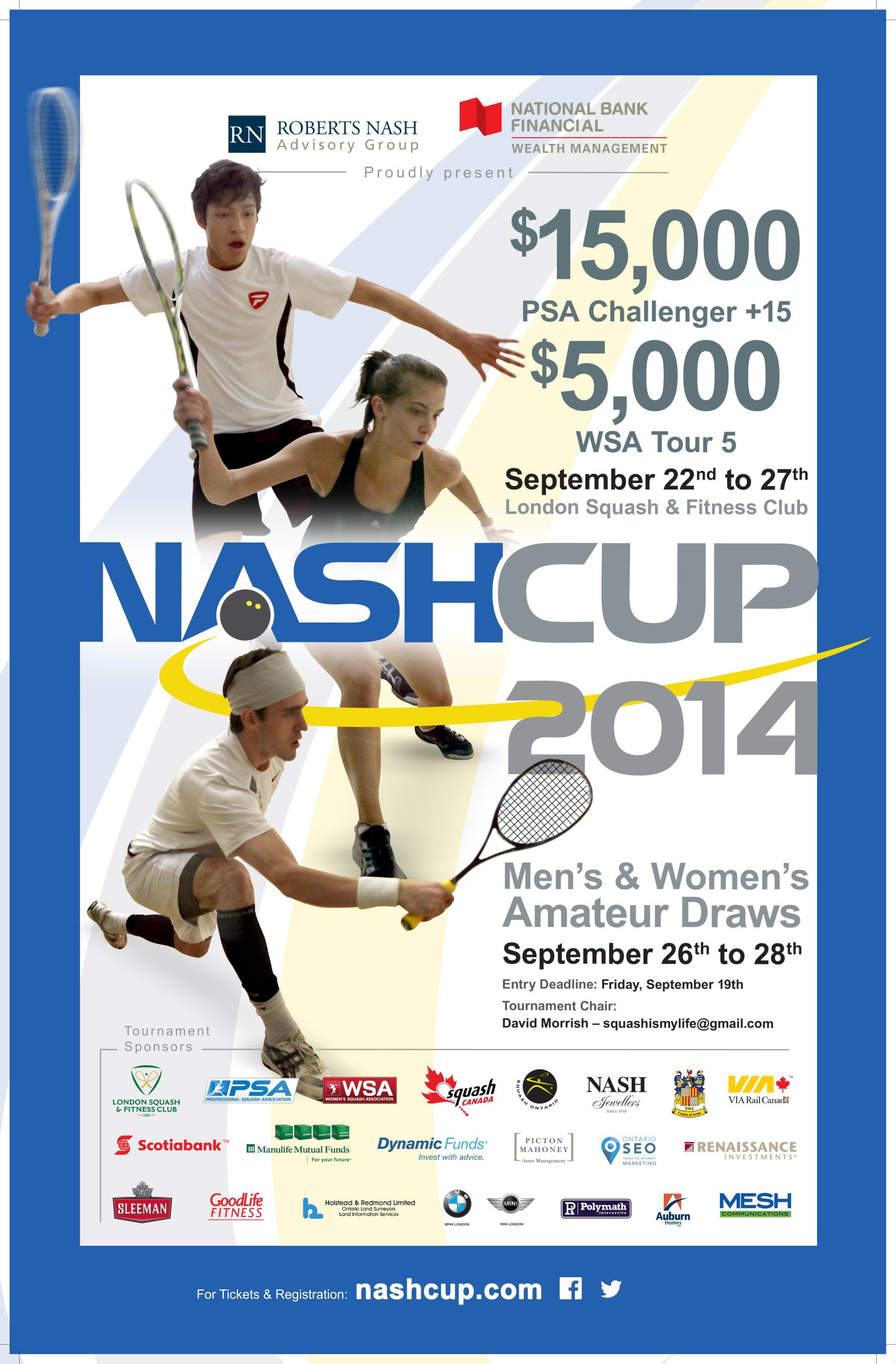 The Nash Cup London Ontario Squash Tournament